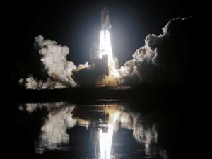night space shuttle launch 300x225 When to Launch?